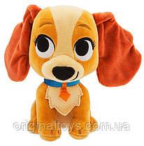 Мягкая игрушка собака Леди - Леди и Бродяга - Lady and the Tramp Disney, 20 см