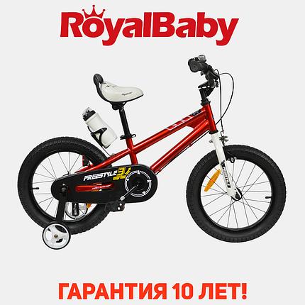 """Велосипед детский RoyalBaby FREESTYLE 12"""", OFFICIAL UA, красный, фото 2"""