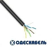 Lan-кабель для наружной прокладки OK-net UTP cat.5e КПП-ВП (100) 4х2х0,51 (Одескабель)