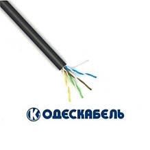Lan-кабель для зовнішньої прокладки OK-net UTP cat.5e КПП-ВП (100) 4х2х0,51 (Одескабель)