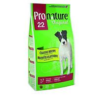 Сухой корм для собак Pronature Original ЯГНЕНОК ВЗРОСЛЫХ (Lamb Adult)  13кг.