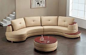 Диван дизайнерский под заказ Радиусный-2 (Мебель-Плюс TM)