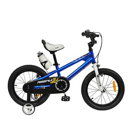 """Велосипед детский RoyalBaby FREESTYLE 18"""", OFFICIAL UA, синий, фото 2"""