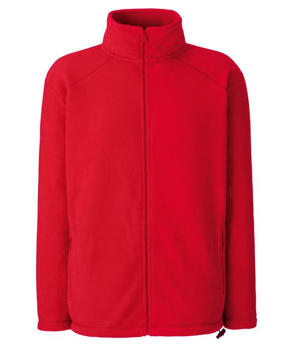 Мужская флисовая кофта S Красный