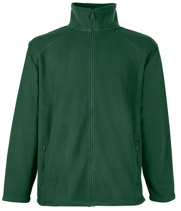 Мужская флисовая кофта M, Темно-Зеленый
