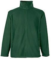 Мужская флисовая кофта L, Темно-Зеленый
