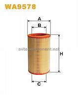 Фильтр воздушный WA9578/234/4 (производство WIX-Filtron) (арт. WA9578), ABHZX