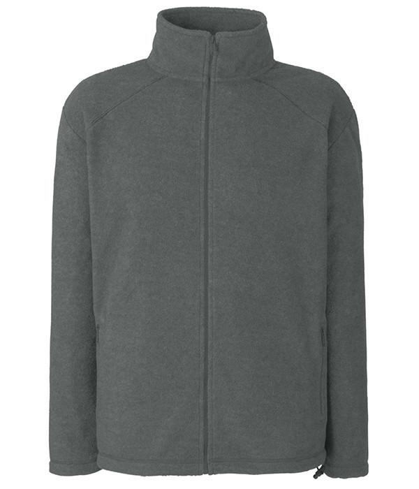 Мужская флисовая кофта L Дымчато-Серый