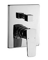 Смеситель для ванны и душа скрытого монтажа Imprese Valtice VR-10320(Z)