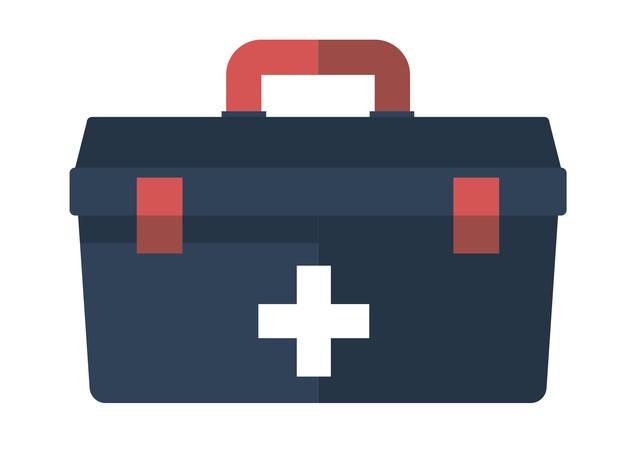 Футляри, сумки, ящики для аптечок