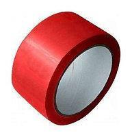 Скотч упаковочный красный 200 м