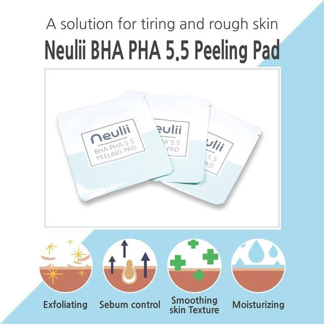 Neulii BHA PHA 5.5 Peeling Pad Sample