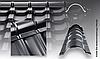 Планка полукруглого конька GSV30 (Х-Matt)