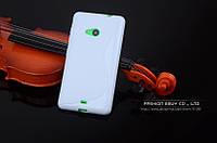 TPU чехол для Microsoft Lumia 640 білий, фото 1