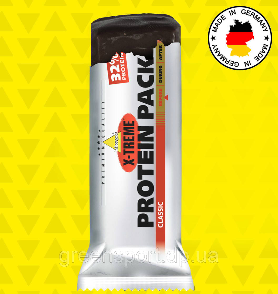 Протеиновый батончик Inkospor X-Treme Protein Pack 32% (35 г) Классик