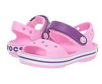 Крокс оригинал детские босоножки Crocs Kids Bayaband Sandal все размеры