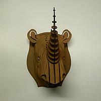 """Охотничий трофей голова носорога - """"Rhino"""""""