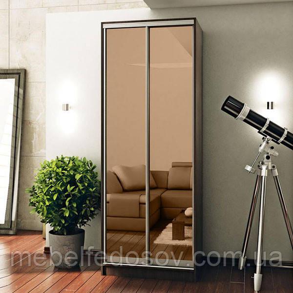 Шкаф-купе 2-х дв. 900х600х2400 (Мебель стар)зеркало бронза
