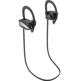 Беспроводная гарнитура для спорта Bluetooth наушники Gelius Pro Poseidon HBT-004P Black