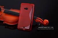 TPU чехол для Microsoft Lumia 640 червоний, фото 1