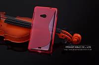 TPU чехол для Microsoft Lumia 640 рожевий, фото 1