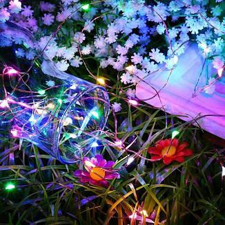 Гирлянда светодиодная нить 2 м 20 led (разноцветная) Multicolor на батарейках #18, фото 2