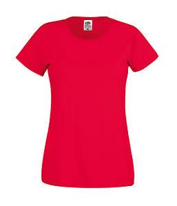 Женская футболка XS, Красный