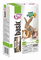 LoLo Pets basic for RODENTS and RABBIT Гранулированный корм для грызунов и кроликов