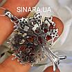 Изумительное Дерево Жизни с фианитами серебряный кулон - Подвеска Семейное Дерево серебро, фото 9