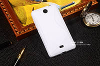 TPU чехол для Microsoft Lumia 430 білий, фото 1