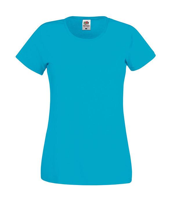 Женская футболка Original L, Ультрамарин