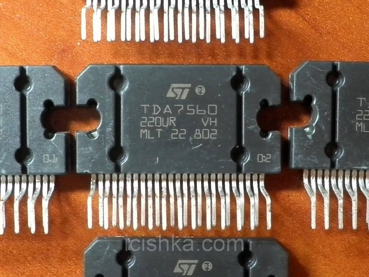 TDA7560 Flexiwatt25 - 4x51W усилитель (УНЧ) для автомагнитол
