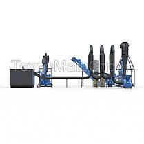 Мини завод для производства пеллет  до 400 кг/час. Полный комплекс., фото 3