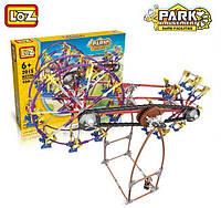 Электромеханический конструктор  LoZ Amusement Park Rotary Whell 599 деталей