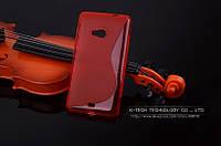 TPU чехол для Microsoft Lumia 535 красный, фото 1