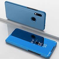 Зеркальный Чехол Книжка для Xiaomi Redmi Note 7 (Синий) (000001690)