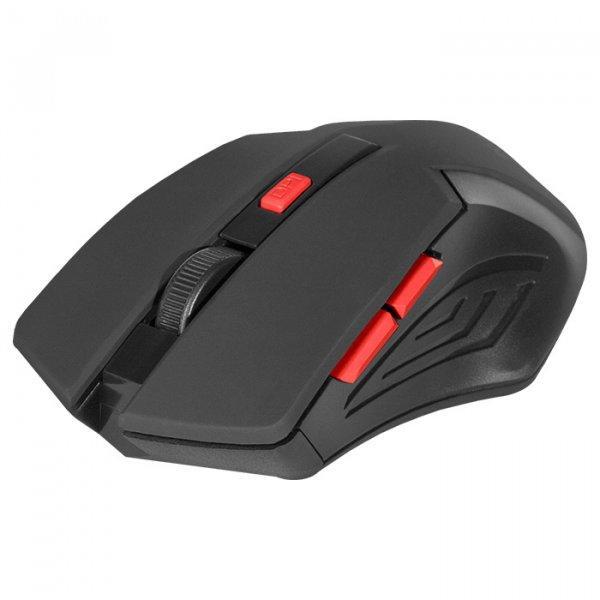 Беспроводная мышка Defender Accura MM-275, Red, компьютерная мышь дефендер для ПК и ноутбука