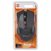 Беспроводная мышка Defender Accura MM-275, Red, компьютерная мышь дефендер для ПК и ноутбука, фото 3