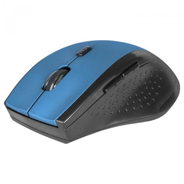 Беспроводная мышка Defender Accura MM-365, Blue, компьютерная мышь дефендер для ПК и ноутбука