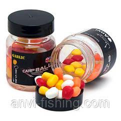 Плавающая силиконовая кукуруза в дипе CarpBalls - Garlic (чеснок)
