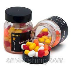 Плавающая силиконовая кукуруза в дипе CarpBalls - Honey (мёд)