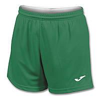 Шорты футбольные женские Joma PARIS II зеленые 900282.450