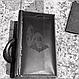 Кожаный кошелек ручной работы star wars, фото 7