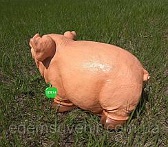 Садовая фигура Свинка , фото 3