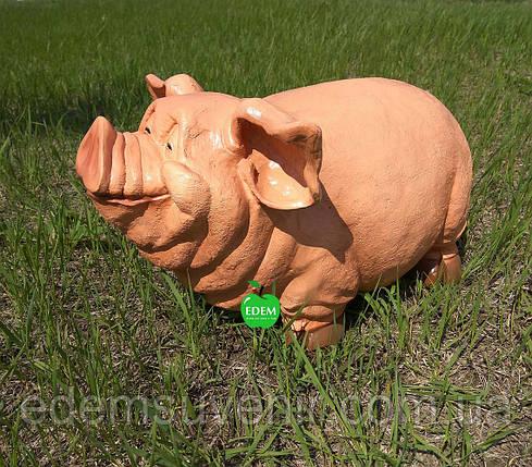 Садовая фигура Свинка , фото 2