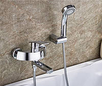 Смеситель для ванны SANTEP 1345 c коротким поворотным носом, фото 1