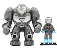 Фигурка большая+маленькая Железный человек Marvel конструктор аналог Лего, фото 1