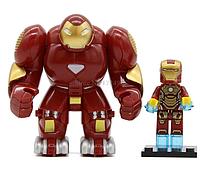 Фигурка большая+маленькая Халкбастер Marvel конструктор аналог Лего, фото 1