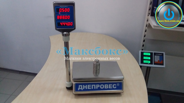 Весы торговые (ВТД-ЕЛ) — (Днепровес) F902H-3EDS