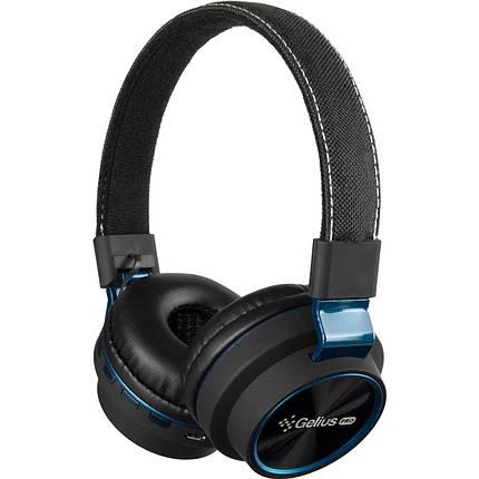 Stereo Bluetooth Headset Gelius Ultra Perfect GL-HBB-0019 Blue, фото 2
